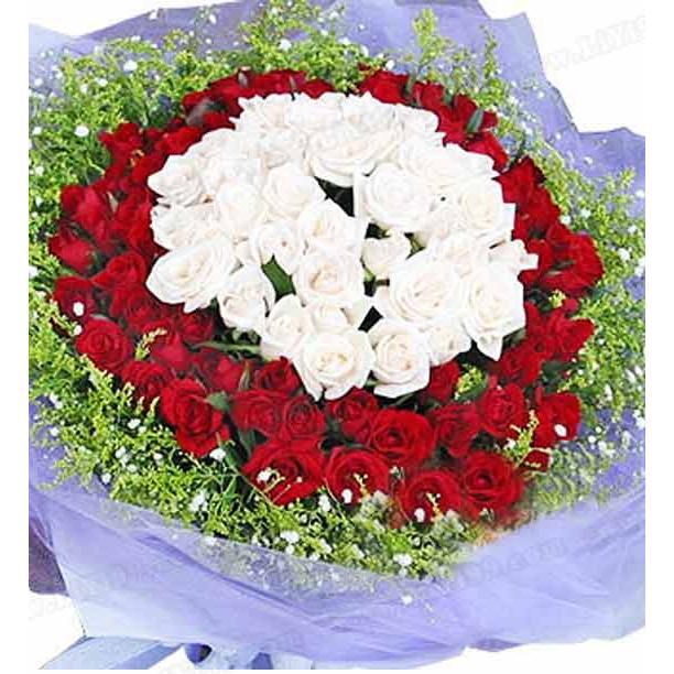 99枝鲜花花束一束
