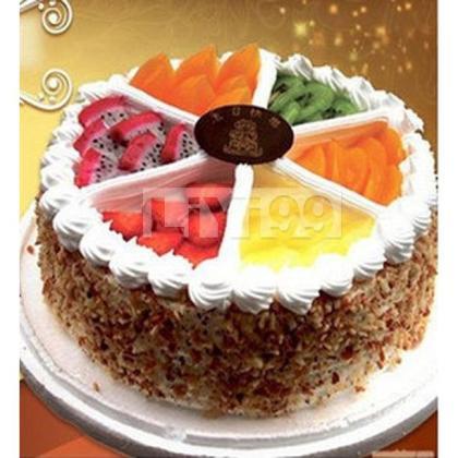 缤纷水果(生日蛋糕)