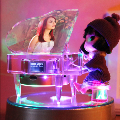 跳动的音符(紫水晶钢琴)